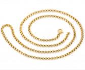 Gena Gold(3 мм) 60 см - укорачиваем