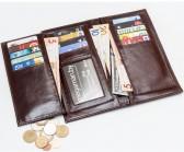 Длинный кошелёк Newman коричневый