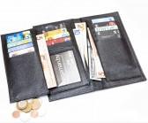 Длинный кошелёк Newman Textured чёрный
