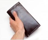 Длинный кошелёк Torrini коричневый
