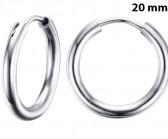 Round Silver 20 мм