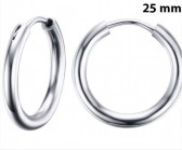 Round Silver 25 мм
