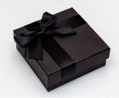 Коробочка квадратная черная