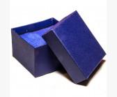 Коробочка синяя с подушкой