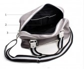 Мужская сумка Vogu homme white